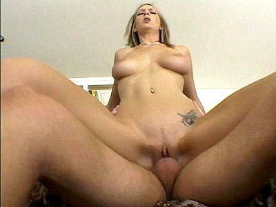 Busty light haired chick Cock Ride Sex